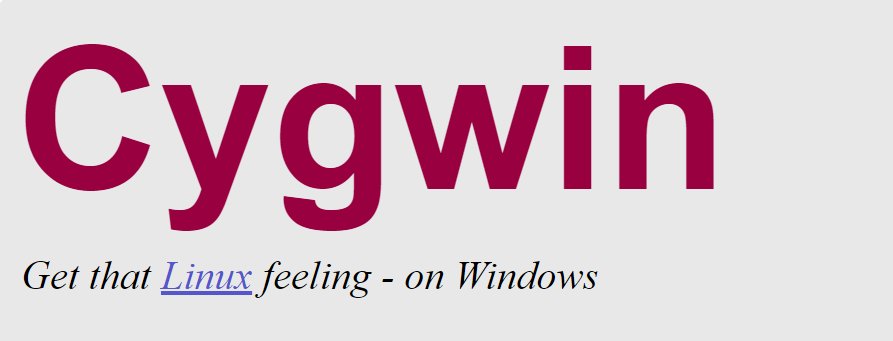 Cygwin 安裝 & SSH設定教學