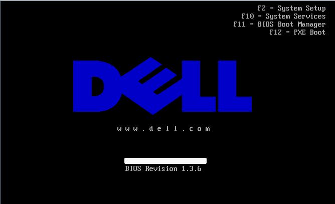 Dell R610 BIOS 設定