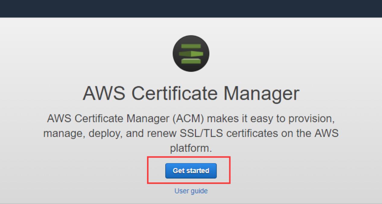 AWS Custom SSL Certificate